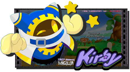 Faux Charming Magician - Magolor (From Kirby) by FierceTheBandit