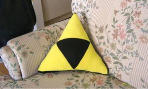 Triforce cushion by PlushMayhem