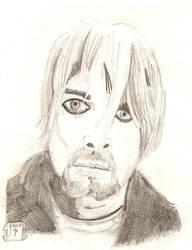 Kurt Cobain portrait by Deepex007