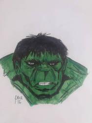 Incredible Hulk by Deepex007
