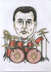 Neil Peart by guido84