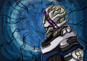 Vetra- Mass Effect Andromeda Fan art by Drawthulu