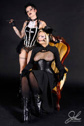 LeEvil and Nixon Suicide 2 by HeadlessBill