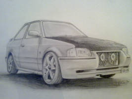 Ford Escort Rs Turbo series 2 by PIKEO