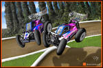 RC Cartoons of Team Xray models by PIKEO