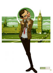 Mr. Bean by juarezricci