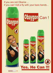 Obama_Baygon by juarezricci