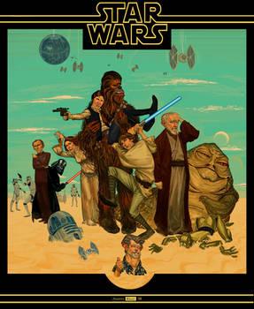 STAR WARS   A New Hope by juarezricci