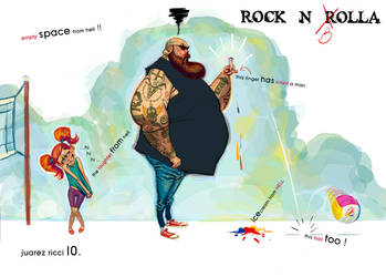 TNTema Rock I by juarezricci