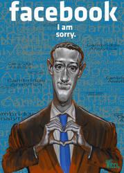Mark Zuckerberg by juarezricci