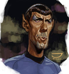 Mr. Spock by juarezricci