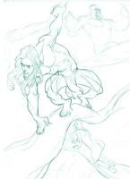 Tarzan-Jane by juarezricci