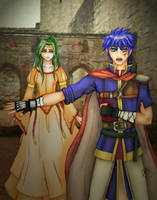 FE: Ike and Princess Elincia by Swag-Thomas-Stroker