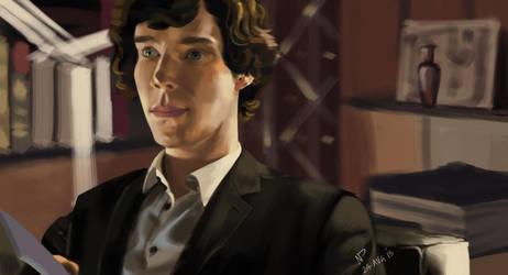 Sherlock by nikki2290