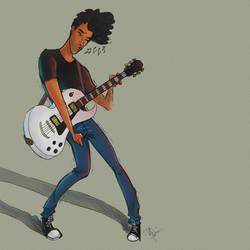 Darren Rock n' Roll by nikki2290