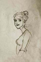 Summer Love Sketch by nikki2290