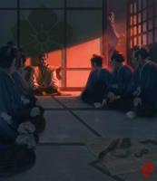 Mitsuhide's Betrayal by Changinghand