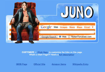 Juno Startpage by AwesomeStart