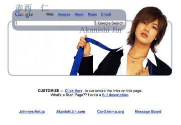 Akanishi Jin Startpage by AwesomeStart