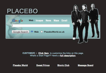 Placebo Startpage by AwesomeStart