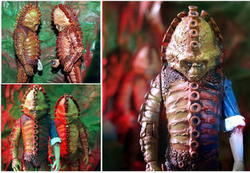 Injured female Zygon custom figure #2 - Dr.Who by TheCelestialToymaker