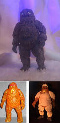 Yeti custom figure - Doctor Who by TheCelestialToymaker