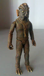 Silurian custom action figure #2 - Doctor Who by TheCelestialToymaker