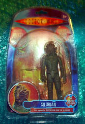 Silurian custom packaging - Doctor Who figure by TheCelestialToymaker