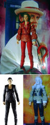 The Rani - custom action figure, Doctor Who by TheCelestialToymaker