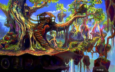 Serpent Stroll by JarrettOnions