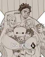 Big Hero 6 by imamong