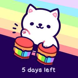 Pride Bongo-cat by moonbeani