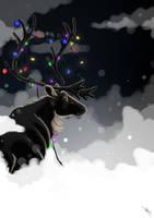 Christmas Reindeer by Brie91