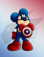 Mickey as Captain Mouse by Nanaki-angel23
