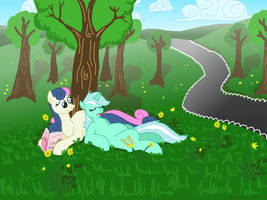 Chillin Out, Lyra Style by bibliodragon