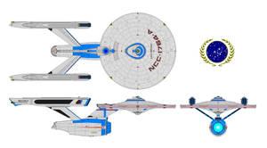 USS Defiant A by nichodo