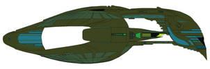 Romulan Warbird D'Delidrix class by nichodo