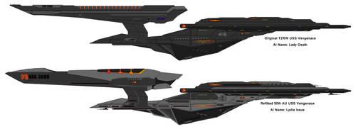 T2RW/50th AU USS Vengeance by nichodo