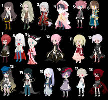 Free Adopt Female Edition [closed] by benderadopts