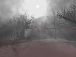 Spooky Scene :3DStudioMax: by EmeraldTokyo