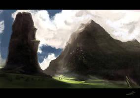 Peaceful Journey Speedpaint by SoldatNordsken