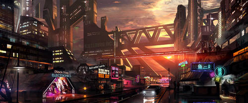 Black Rise - The Low Streets by SoldatNordsken