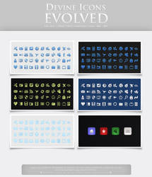 Devine Icons showoff by ipapun