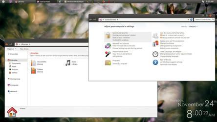 Feeling Ubuntu by ipapun