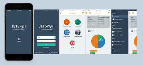 Jetspot Mobile App by ipapun