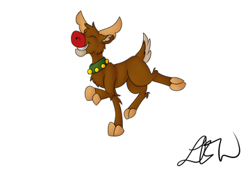 Rudolph Shaded by PonyCrown