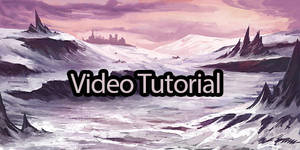 Tutorial of Spikes and snow. by Suzanne-Helmigh