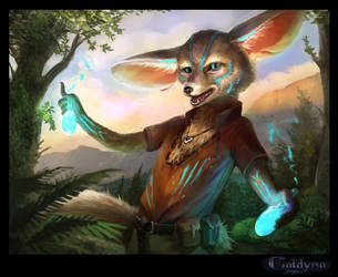Fennek the potionmaster by Suzanne-Helmigh