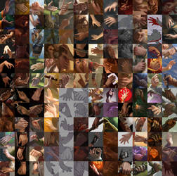 150+ hands by Suzanne-Helmigh