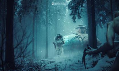 Aliens Hunter by adrianoampb